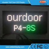 P4 écran polychrome extérieur de la location DEL pour l'étape