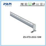 tubo plano de 10W 20W LED, luz del listón del LED, luz linear del LED