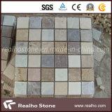 Mattonelle di mosaico di marmo naturali del reticolo quadrato poco costoso per la stanza da bagno sulla vendita