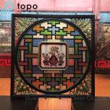 Topo 유리 (S-MW)에서 Windows 도매 예술적인 입히는 부유물 평면 유리
