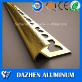 Baldosas de acabado Esquinas de aluminio de extrusión de aleación de aluminio de perfil con colores personalizados