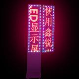 Publicidad de la sola visualización de colores del texto LED