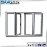 Застекленная двойником алюминиевая дверь Casement и дверь стекла