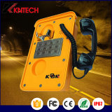 Teléfono de emergencia de protección IP66 Koontech túnel Robusto teléfono con la calidad constante