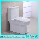 陶磁器のワンピース水戸棚WCをフラッシュする二重Siphonic