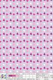 De afdrukkende het Houden van Stof van de Polyester van het Hart voor de Kleding van het Kledingstuk doet Schoenen in zakken