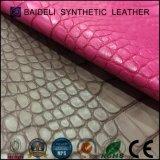 Snake couro de PVC para amortecer Lady sacos/Wallet e móveis