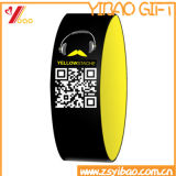주문 Qr 부호 실리콘 Wristband/RFID 소맷동 (XY-SW-001)