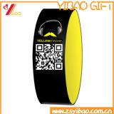 Custom Qr Code Silicone Wristband / RFID Wristband