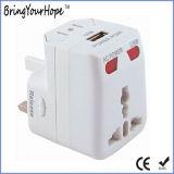 Singolo adattatore Port del caricatore di corsa di corrente alternata del USB (XH-UC-039)