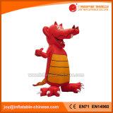 Mascotte gonfiabile del fumetto del coccodrillo di colore rosso (C1-204)