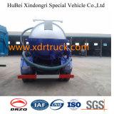 Camion citerne à aspiration d'eaux usées Dongfeng 5.25cbm