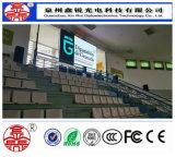 단계 사건 P5.95 (4.81) 옥외 풀 컬러 높은 광도 임대 LED 스크린 전시