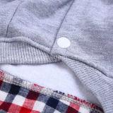 Vestiti a due pezzi dell'animale domestico del maglione di nuova di disegno derisione del cane & della camicia di polo