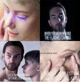 무도회 클럽 눈꺼풀 가짜 속눈썹 빛난 LED 속눈섭