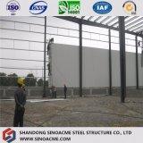 Vorfabriziertes Stahlrahmen-Lager/Gebäude mit feuerfester Isolierung