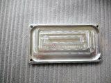 Peça de usinagem CNC personalizada, peça de metal de fabricação com revestimento preto