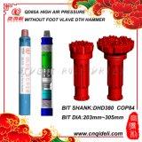 8 Zoll - hoher Hammer des Luftdruck-DTH (DHD380, COP84, M80, QL80, SD8)