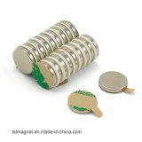 3M de Kleefstof Gesteunde Magneet van het Neodymium van de Magneet voor Pakket