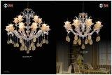 Form und heißer Verkauf färbten Glasur-Leuchter-Licht