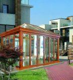 Le Sunroom glacé par bâti d'alliage d'aluminium de qualité, Sunhouse a préfabriqué