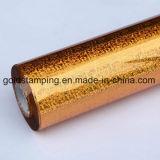 El oro holográfica láser de lámina de estampado en caliente