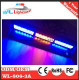 18 luzes do estroboscópio da plataforma do traço do diodo emissor de luz de W para o caminhão do carro de polícia
