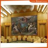 ホーム装飾の油絵のためのヨーロッパ様式の骨董品デザインハング壁の油絵のポップアートの絵画