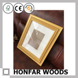 ギャラリーの金ホーム装飾のための木映像の写真フレーム