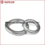 Rondelles DIN127 à ressort avec de l'acier du carbone de finition de zinc