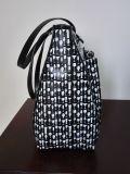 Bolso de ombro de bolsa de couro PU com saco de couro com folha de alumínio