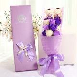 Kundenspezifischer hochwertiger Papiergeschenk-Blumen-Kasten-Pappgeschenk-Kasten