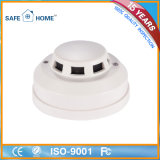 Home Security Wired Detector de fumaça Fire Alarms
