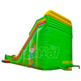 Vente en gros Cartoon Theme Castle Inflatable Slide with Toys