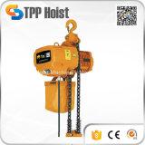 Élévateur à chaînes électrique industriel de 5 tonnes avec le chariot