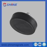 D22mm/D43mm/D66mm/D88mm Sterke Magnetische Pot NdFeB met Met een laag bedekt Rubber