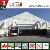 판매를 위한 고품질 PVC 덮개 40m 구부려진 큰천막 천막
