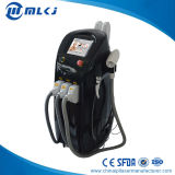 A máquina da remoção do cabelo de 4 In1 IPL RF combina o laser do ND YAG do interruptor de Q para a remoção do tatuagem