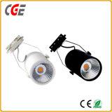 Vía LED LED Iluminación LED de luces de la vía de la luz de la vía las luces interiores AC85V-265V COB FOCO LED de luz vía PAR28/PAR30 vía las lámparas de iluminación LED