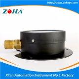 Радиальный стальной корпус черного цвета с фланцем Manometers воздуха
