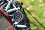 Trampolines usados ginásticos baratos com redes de segurança para a venda