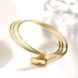 Viele erstrecken sich Armband-Inner-hängendes Charme-Armband des Gold18k