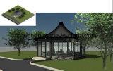 Leistungsfähiger moderner Garten-Parteiluxuxgazebo-im Freienhotel-Zelt