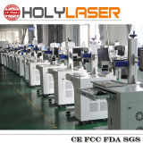 Máquina de grabado del laser para el vidrio del formato