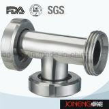Accessorio per tubi saldato del gomito di trasformazione dei prodotti alimentari dell'acciaio inossidabile (JN-FT2008)