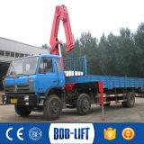 Grúa montada carro plegable de la grúa del camión del auge Sq5za2