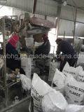 제정성 비누 공장에 이용되는 부식성 소다 조각