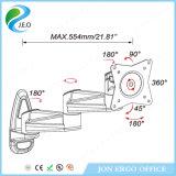 Jeo 향상 두 배 합동 구조 Ys-Ae12b 알루미늄 모니터 마운트 팔
