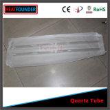 Tubo resistente de alta temperatura del cuarzo de la alta calidad