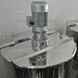El tanque de mezcla líquido químico del acero inoxidable